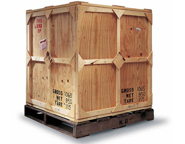 LCL wooden shipping crate image