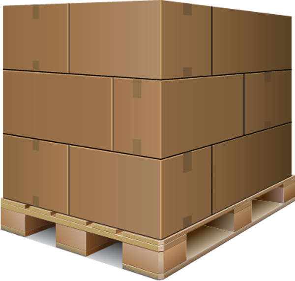 Palleted box image