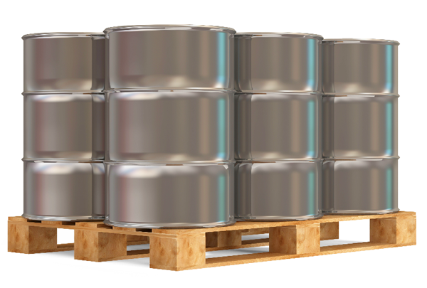 Steel shipping drum image