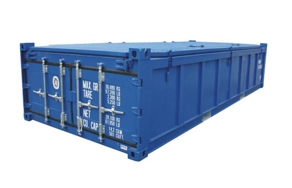 Half-height container